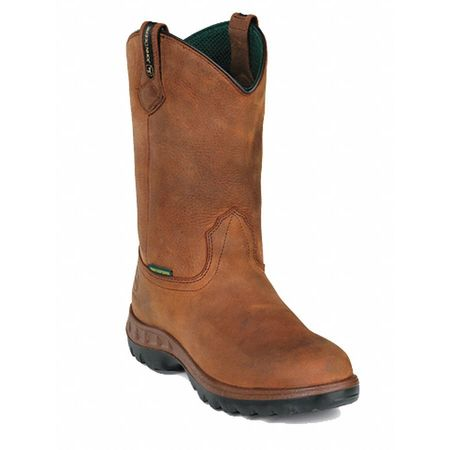 Wellington Boots, Pln, Mens, 7-1/2, Tan, PR
