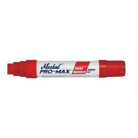 Paint Marker, Pro Max Jumbo Tip, Red