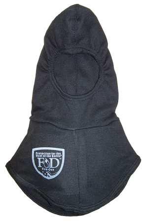 Fire Hood, Universal, 13 In L, Black, HRC 2