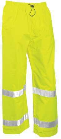 Rainwear Pants, Class 3, Ylw/Grn, XL