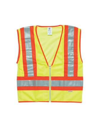 Large Class 2 High Visibility Vest,  Orange