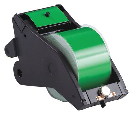 Tape Cartridge, Black/Green, 90 ft. L
