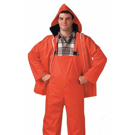 2 Piece Rainsuit, Hi-Vis Orange, 2XL