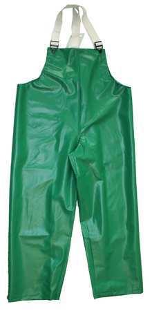 FR Rain Bib Overall, Green, 3XL