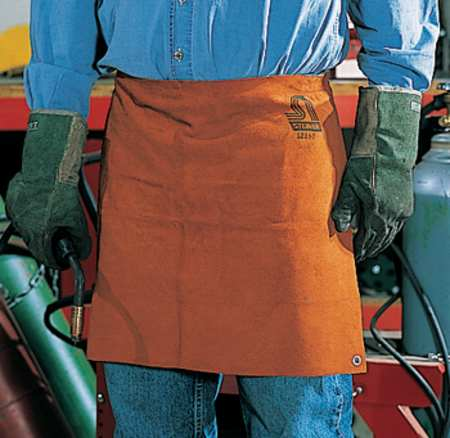 Welding Waist Apron, Leather, 18 x 24 In
