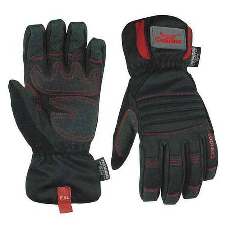 Cold Protection Gloves, PVC, L, Black, PR