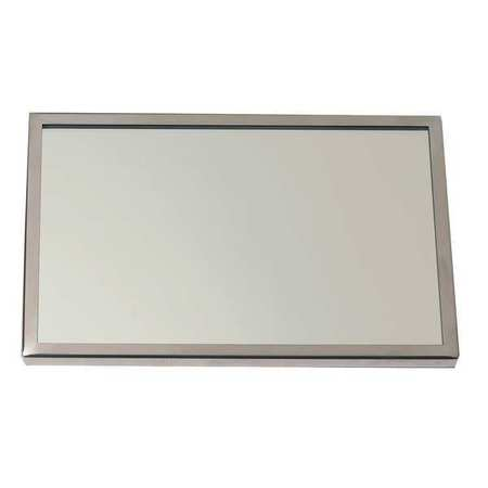 Framed Mirror Sst Gl 72x36 In