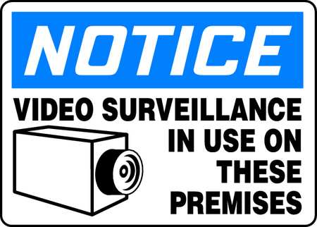 Surveillance Protection Signs