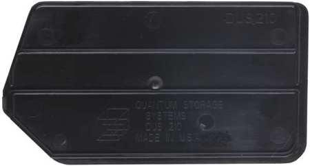 Quantum Storage Systems Bin Divider Black Pk6 Dus210