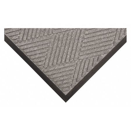 Carpeted Entrance Mat, Gray Ash, 4ft.x6ft.