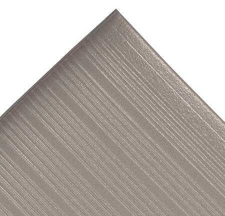 Antifatigue Mat, Gray, 3ft. x 5ft.