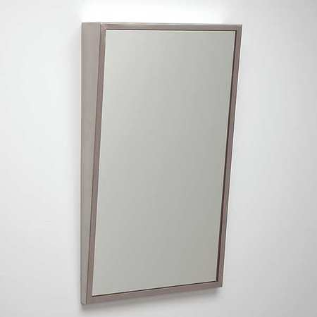 See All Industries Framed Mirror, ADA, Fixed Tilt, 24x36 In ...