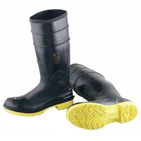 "Knee Boots, Sz 13, 16"" H, Black, Stl, PR"