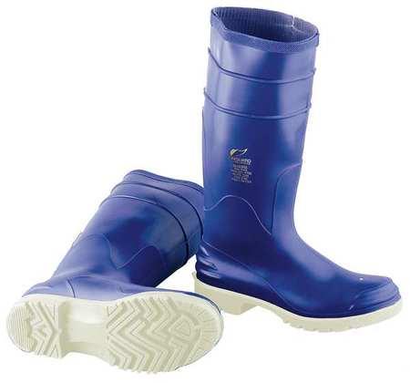 "Knee Boots, Sz 6, 16"" H, Blue, Stl, PR"