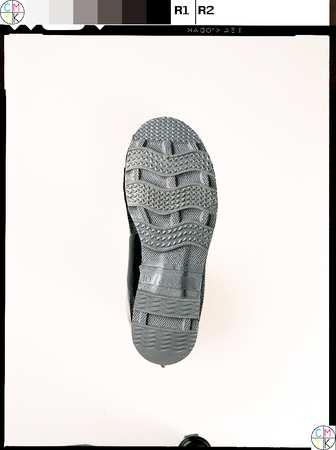 """Ankle Boots, Sz 6, 6"""" H, Black, Stl, PR"""