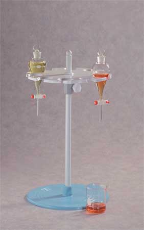 Rotary Separatory Funnel Rack, 21 In.H