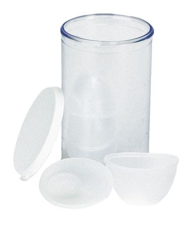 Disposable Eyewash Cup, White, PK6