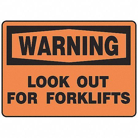 Forklift Traffic Signs