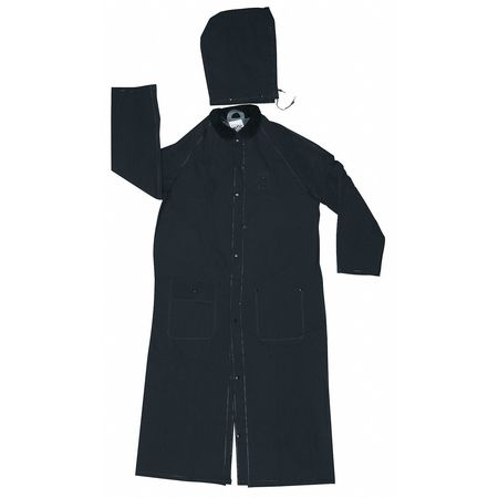 Rider Raincoat, Black, 4XL