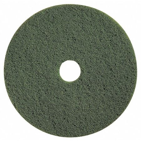 Scrubbing Pad, 20 In, Green, PK5
