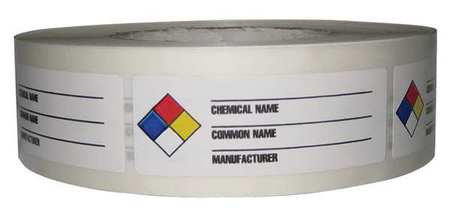 NFR Label, Paper, 3-1/8 In. W, PK1000