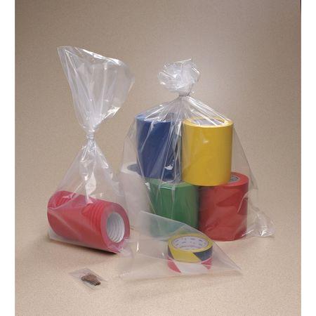 """8"""" x 6"""" Polyethylene Lay Flat Poly Bag,  4 mil,  Pk1000"""
