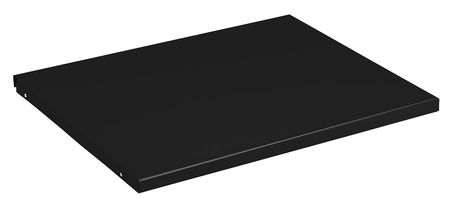 9KGK6 Shelf, 18 In x 24 In x 3/4 In, Black