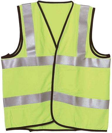Large Class 2 Flame Resistant Vest,  Yellow