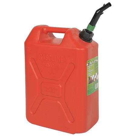 Value Brand Plastic Fuel Can 5 Gal 05086 Zoro Com