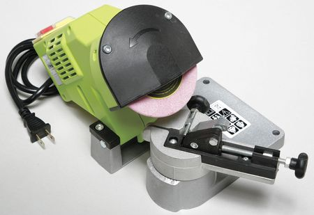 Electric Chain Sharpener, Bench Mount