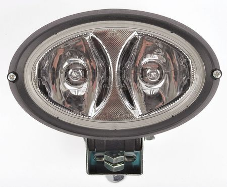 Work Light, Oval,  Double-Beam, Bracket Mnt