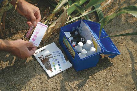 lamotte soil test kit instructions