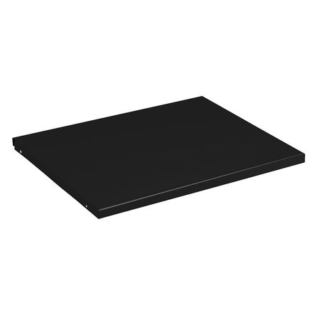 9WFP1 Shelf, 18 In x 18 In x 3/4 In, Black