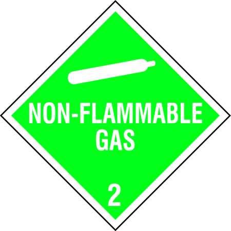 Vehicle Plcrd, Non-Flamm Gas w Picto, PK10