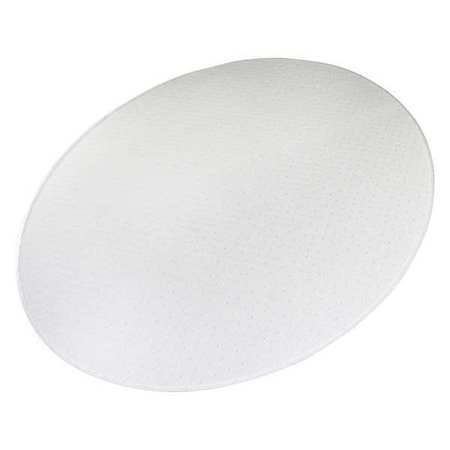 60 x 48 in oval designer chair mat for carpet - Chair Mat