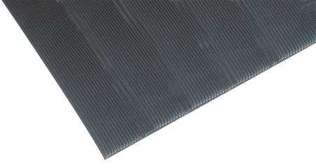 Antifatigue Mat, Black, 3ft. x 5ft.