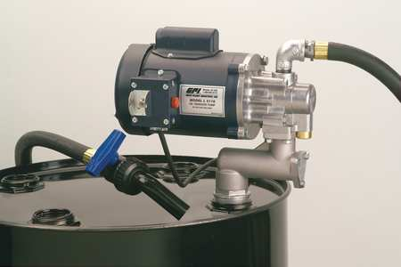 Great plains industries oil transfer pump 115vac 1hp for Gpi fuel pump motor