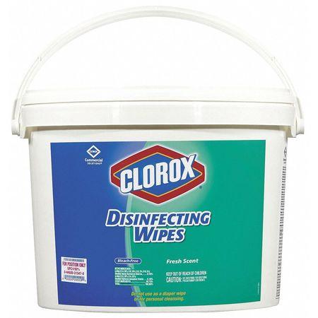 clorox clorox wipes bucket plastic b100 zoro com