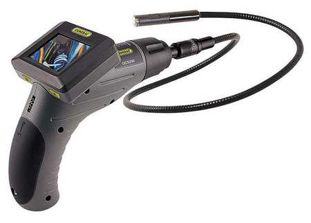Video Borescope, 2.4 In, 39 In Shaft