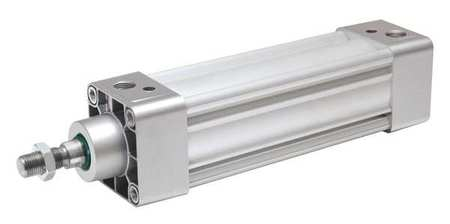 80mm Bore ISO Double Acting Air Cylinder 250mm Stroke