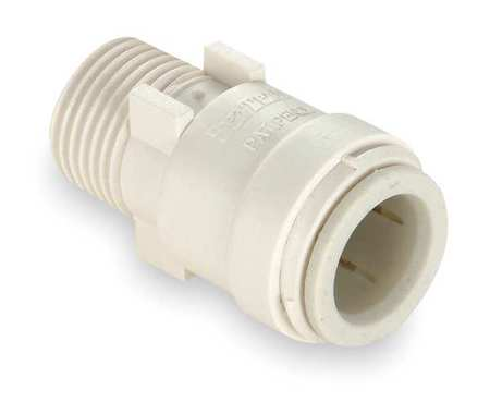 Adapter, 1/2 x 3/4 In., Polysulfone
