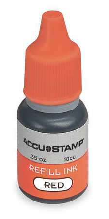 Pre-Inked Stamps, Red, 0.35 oz.