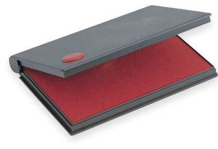 Stamp Pad, Size 1, Color Ink Red