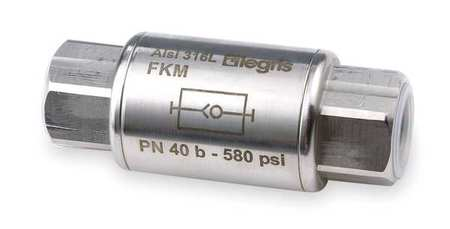 "3/8"" FNPT Stainless Steel Check Valve PK2"