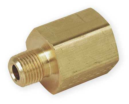 "1/2"" FNPT x 3/8"" MNPT Brass Reducing Adapter"