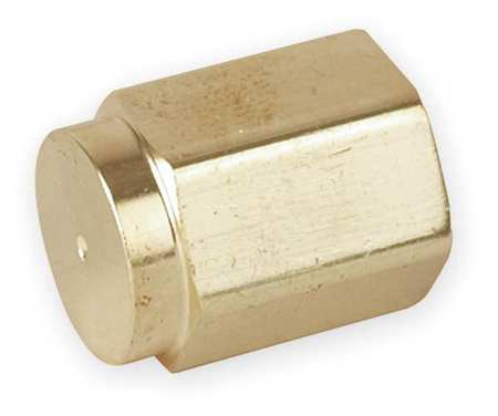 "1/4"" FNPT Brass Cap"