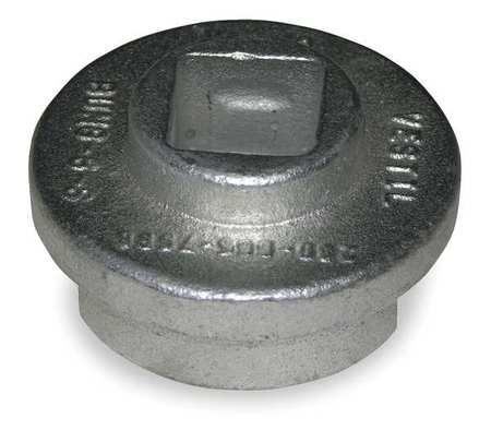 Drum Bung Socket, 3/4 In, Zinc