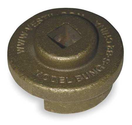 Drum Bung Socket, 1/2 In,  Bronze