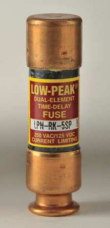5A Time Delay Melamine Class RK1 Fuse 250VAC/125VDC