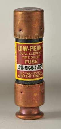 6-1/4A Time Delay Melamine Class RK1 Fuse 250VAC/125VDC